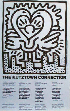 Kutztown by Keith Haring, $1225
