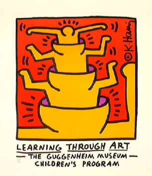 Learning Through Art by Keith Haring, $630