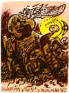 Caliban by Andre Masson, $150